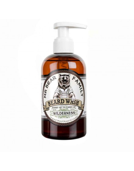 Champú Barba Wilderness Mr. Bear Family 250 ml