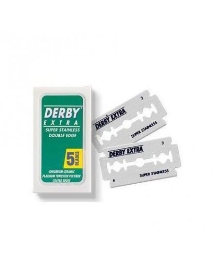 Cuchilla Doble Afeitar Derby, Pack 5 hojas