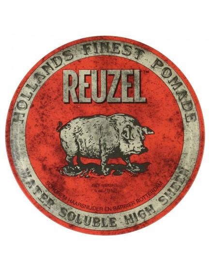 Pomada Red Base de Agua, Alto brillo, Reuzel, 113 grs.