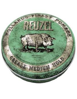 Pomada Reuzel Verde, Base aceite, Medio 113 grs.