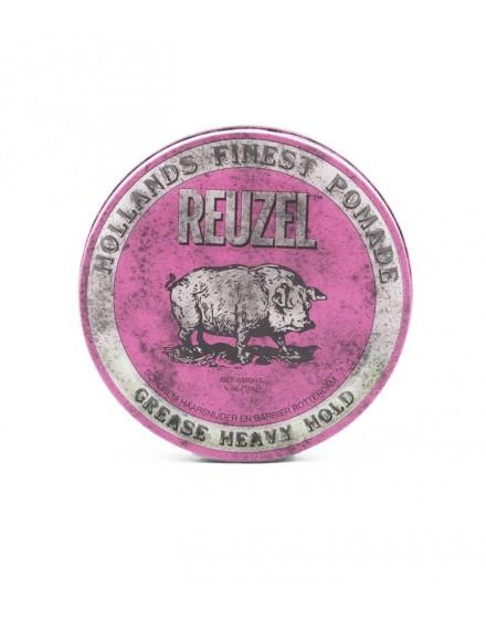 Pomada Pink, Grease Heavy hold, Reuzel, 35 grs.