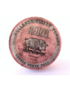 Pomada Pink, Grease Heavy hold, Reuzel, 113 grs.