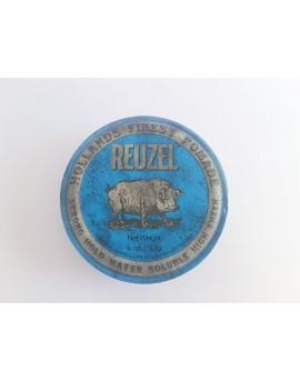 Pomada Reuzel Azul, Base de Agua, Fuerte 113 grs.