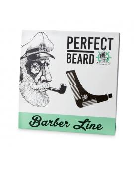 Peine perfilador de barba