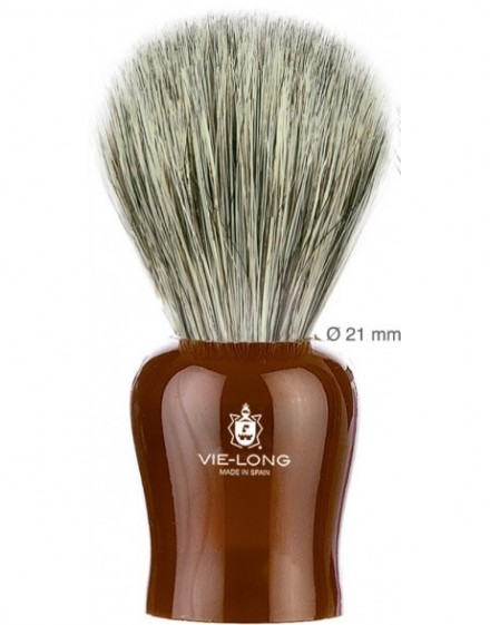 Brocha Afeitar, pelo cerda y sintetico, marca Vielong